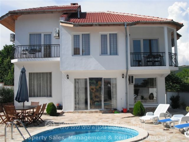 Black sea Villa with pool